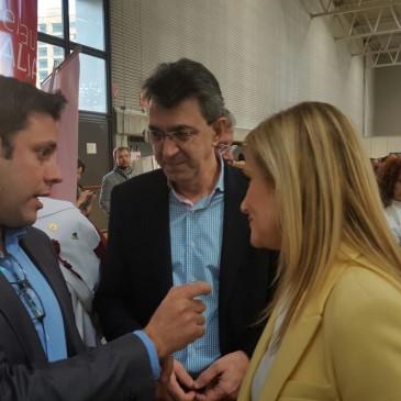 Iván Alonso promociona en Intur el proyecto  de la Tebaida Berciana