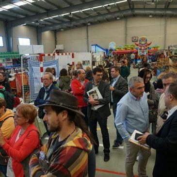 Centenares de visitantes en la 8ª Feria de Turismo y desarrollo del Bierzo Alto celebrada en La Ribera  de Folgoso