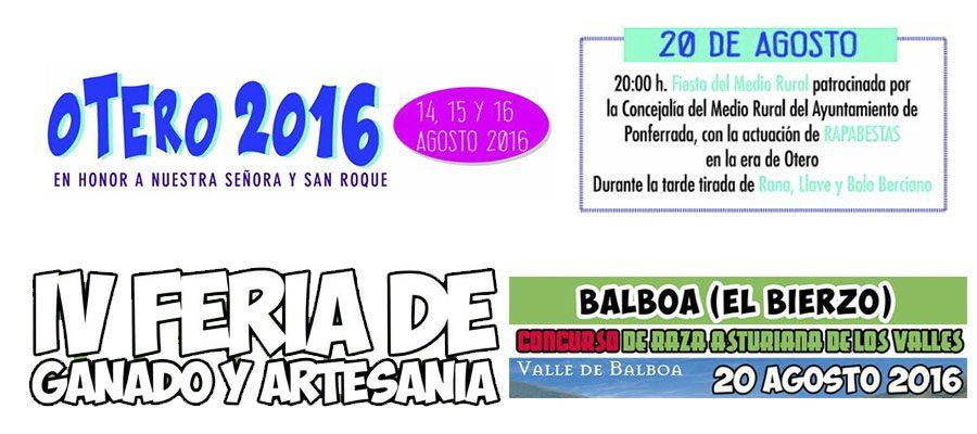 Coalición por El Bierzo refuerza mañana su compromiso con el medio rural en Otero y en Balboa