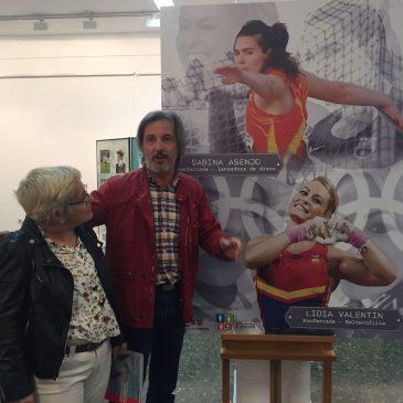 Pedro Muñoz pide el apoyo de todo El Bierzo a la  candidatura de Lidia Valentín al premio Princesa de Asturias