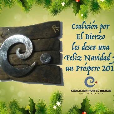 Felicitación de Navidad de Coalición por El Bierzo