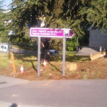 Medio Rural asegura que se ha hecho un gran esfuerzo en la señalización de numerosos puntos del municipio